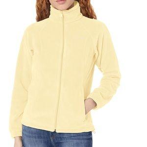 Columbia Benton Springs fleece yellow jacket sz XL